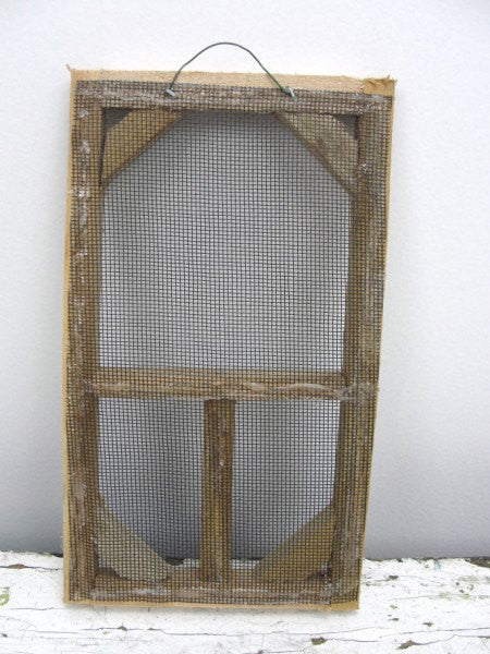 Mini screen door, rustic screen door, screen door to decorate - General Crafts - Craft Supply House