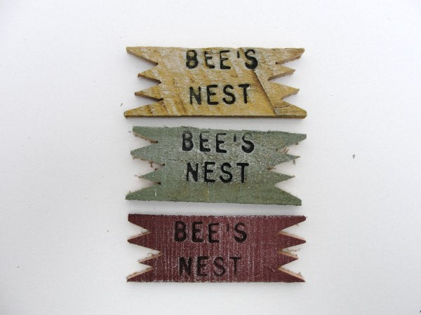 Bee's nest sign - General Crafts - Craft Supply House