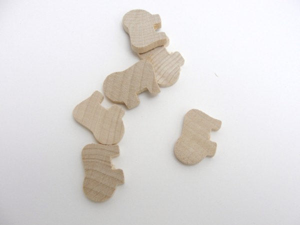 Lion cutout set of 6 - Wood parts - Craft Supply House