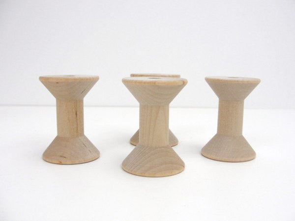 wood spools