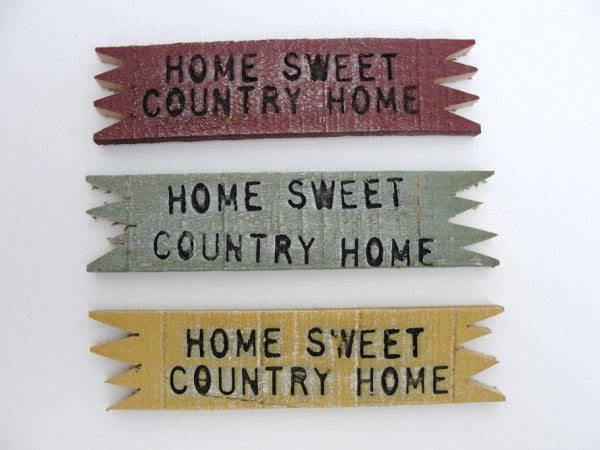 Home Sweet Country Home Sign - General Crafts - Craft Supply House