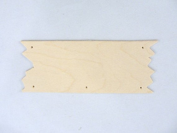 Wooden unfinished sign DIY set of 6 - Wood parts - Craft Supply House