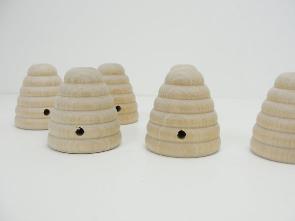Wooden beehive set of 6 - Wood parts - Craft Supply House