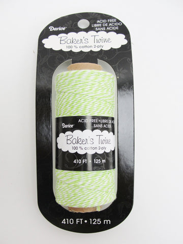 Lime green bakers twine