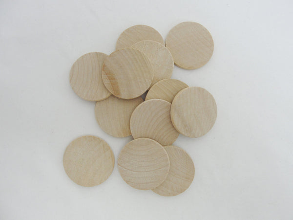 "Wooden Circle 1 1/2"" disc x 1/8"" thick - Wood parts - Craft Supply House"