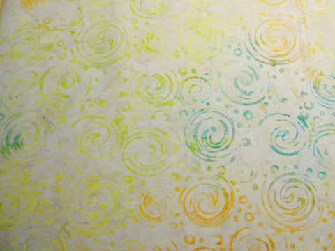 Batik Tonga Dream fabric yardage, batik fabric, swirl fabric, quilt fabric - Fabric - Craft Supply House