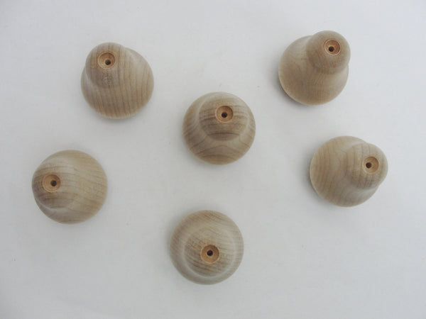 Small wooden pears set of 6 - Wood parts - Craft Supply House