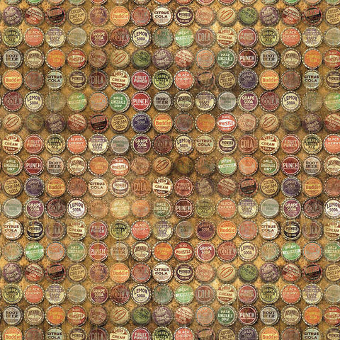 Tim Holtz Multi Top-shop bottle cap fabric yardage - Fabric - Craft Supply House