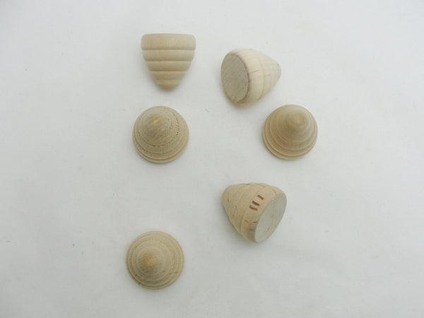 Small wooden beehive set of 6 - Wood parts - Craft Supply House