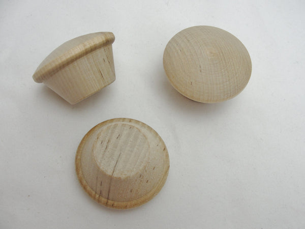 Miniature wooden cupcake set of 3 - Wood parts - Craft Supply House
