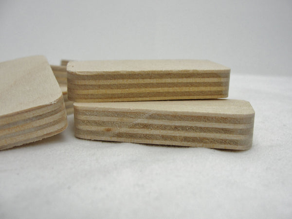 Unfinished Wooden dominoes set of 10 - Wood parts - Craft Supply House