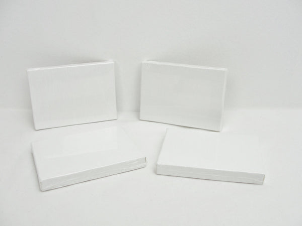 "Mini artist canvas ACEO size 2 1/2"" x 3 1/2"" set of 4 - Mixed Media Art Supplies - Craft Supply House"
