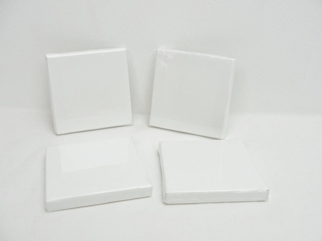 "Mini artist canvas 3"" x 3"" set of 4 - General Crafts - Craft Supply House"