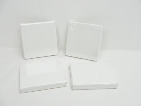 "Mini artist canvas 3"" x 3"" set of 4 - Mixed Media Art Supplies - Craft Supply House"