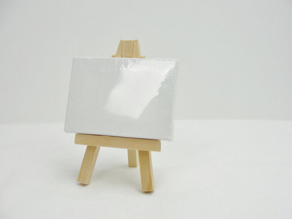 Miniature wood easel - Wood parts - Craft Supply House