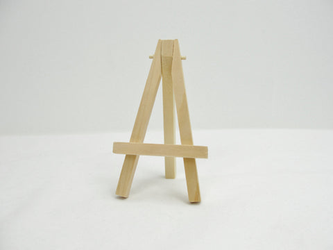Miniature wood easel - General Crafts - Craft Supply House