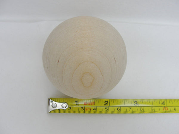 "Large solid wooden 2.5"" ball, 6.35 cm, 2 1/2"" diameter - Wood parts - Craft Supply House"