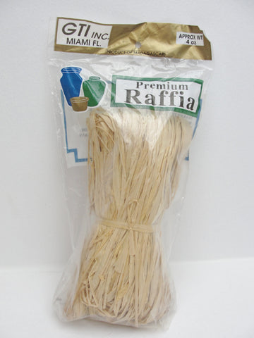 4oz Bag of Premium Raffia floral supply - General Crafts - Craft Supply House