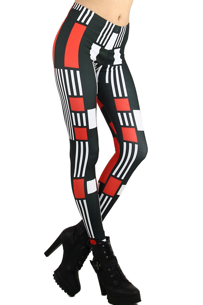 Mod Block Striped Leggings