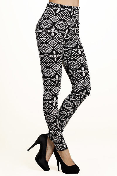 Vogue Geo Tribal Leggings