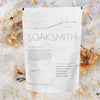 Soak Smith Refresh Magnesium Epsom Salt bath soak with flowers