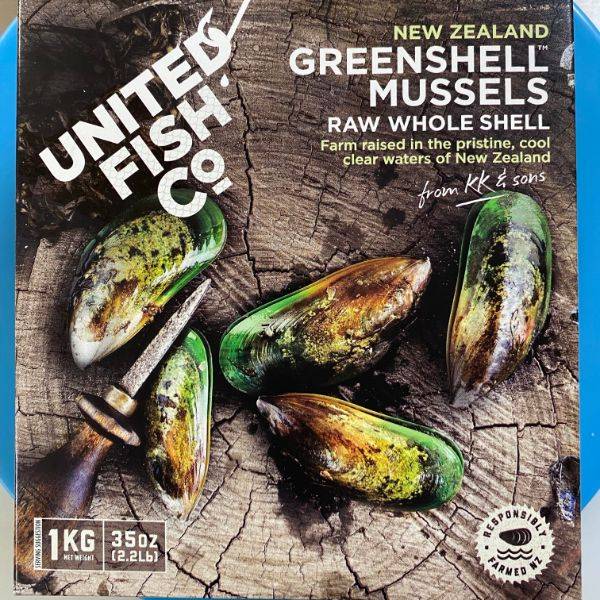 Bivalves Greenshell Mussels whole