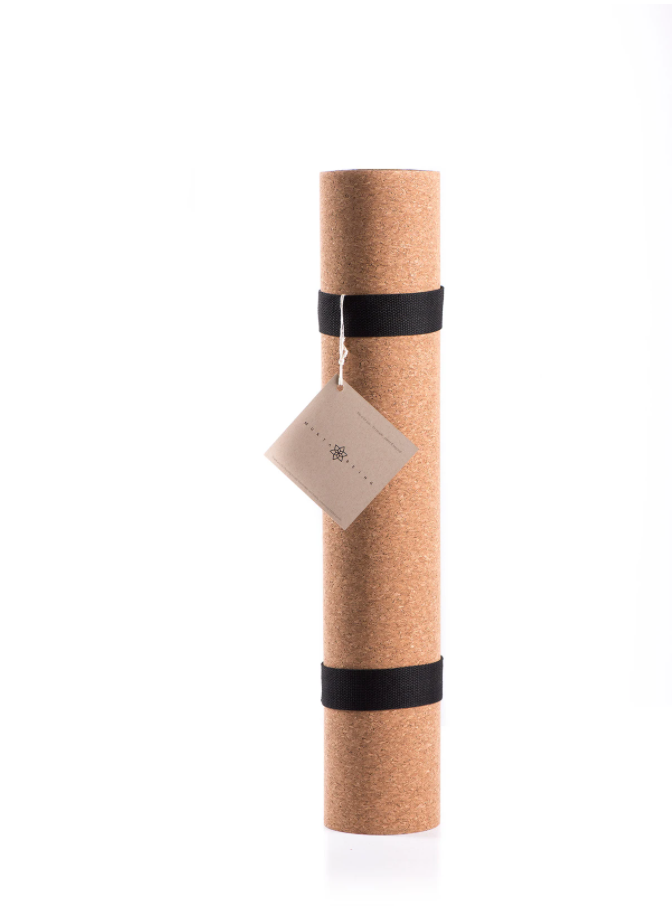 Lightweight 'Bare' Cork Yoga Mat