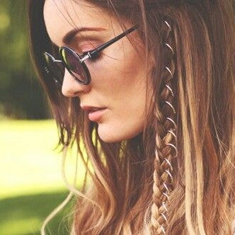 Boho Braid Adornment Rings - ESMEBO