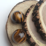 Natural Tigers Eye Sphere Balls
