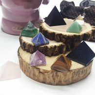 Healing Stone Pyramid Collection