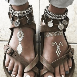 Gypsy's Coin Trove Anklet - ESMEBO