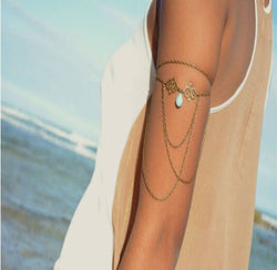 Boho Bohemian Beach Arm Chain Bracelet