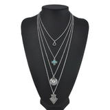 Boheme Trinket Multi-Layer Necklace - ESMEBO