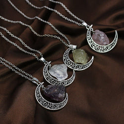 Divine Crescent Necklace - ESMEBO