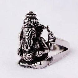 Ganesh Statement Ring - ESMEBO