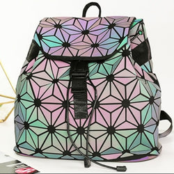 Geometric Luminescent Lingge Backpack - ESMEBO