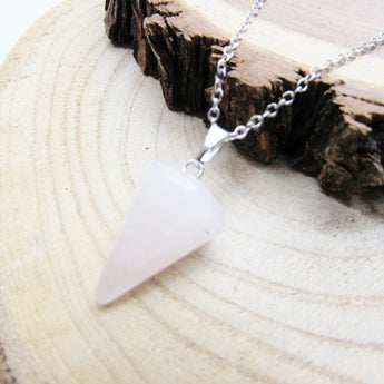 Cones of Light Necklace - ESMEBO