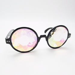 Psychedelic Kaleidoscope, Trippy Festival Party Rave Glasses