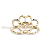 Golden Lotus Hair Clip - ESMEBO