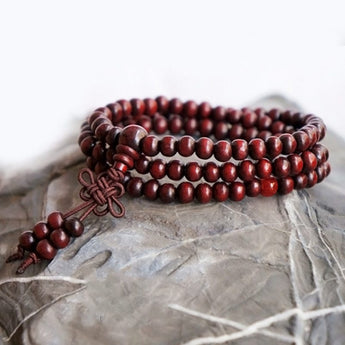 Red Mala Beads - ESMEBO