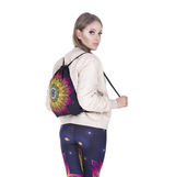 Sunset Mandala Drawstring Backpack - ESMEBO