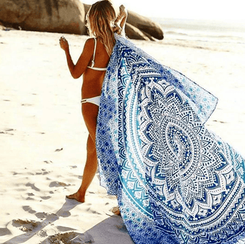 Beachy Blues Mandala Roundie - ESMEBO