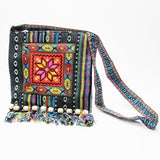 Boho Bold Textile Shoulder Bag - ESMEBO