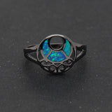 Moon Witch Fire Opal Ring - ESMEBO