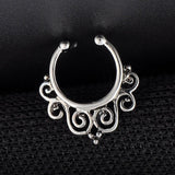 Greek Goddess Faux Septum Ring - ESMEBO