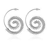 Dehli Nights Spiral Earrings - ESMEBO