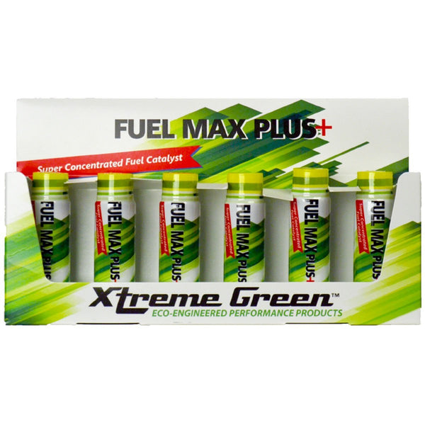 Xtreme Green Fuel Max Plus+ One Shot Does It All! Boosts Power and Performance