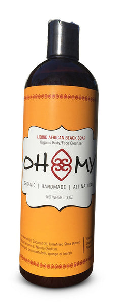 African Liquid Black Soap 16 oz from Ghana (NEW PRODUCT AVAILBLE 2/28/2017)