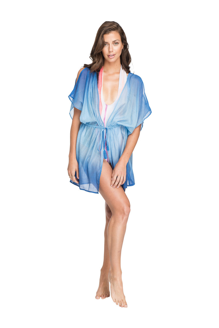 Hawaiian Tropic, Open Front Cover Up, Beach Cover Up