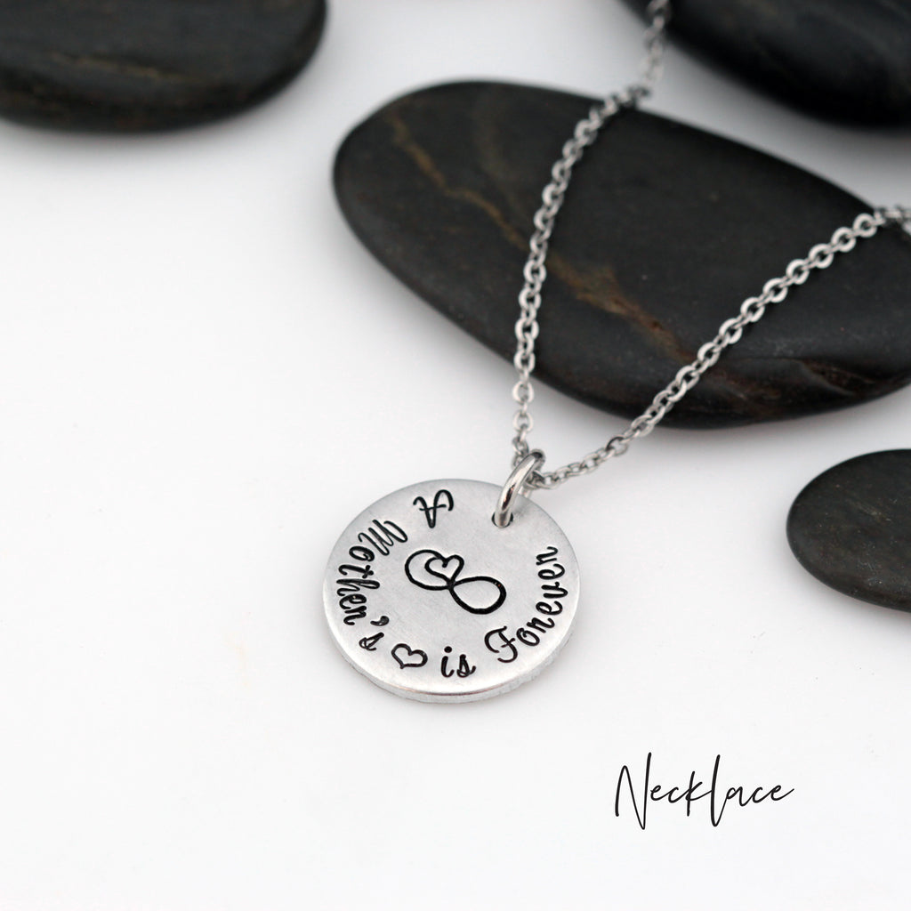 A Mother's Love Is Forever - Necklace | Expandable Bangle | Bracelet